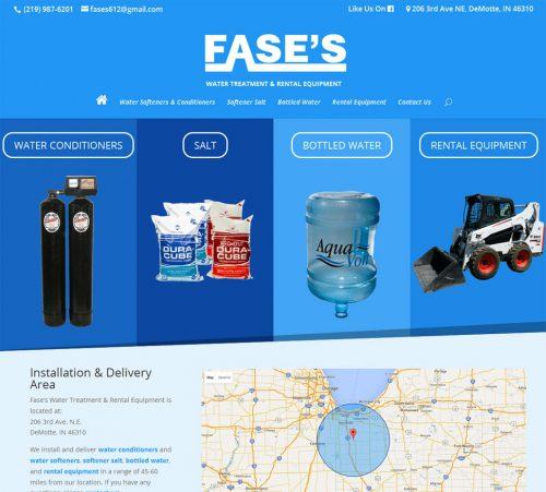 Fase's Water Treatment & Rental Equipment