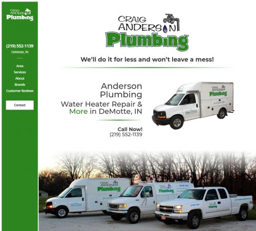 Anderson Plumbing | Water Heater Repair & More