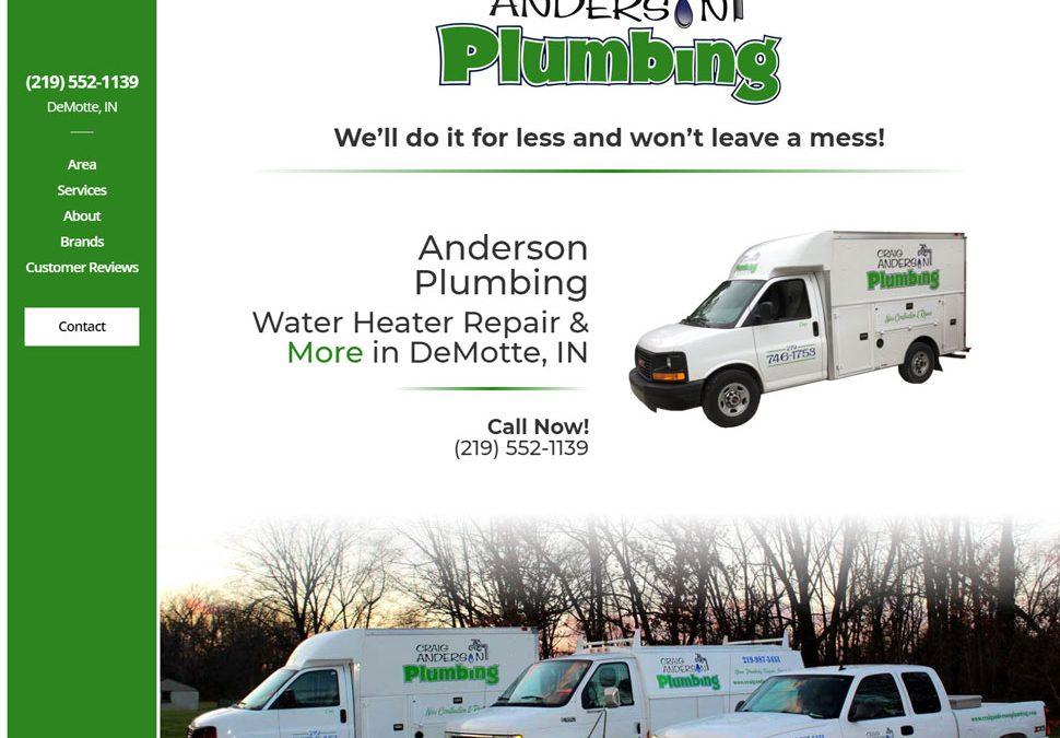Anderson Plumbing | Water Heater Repair & More