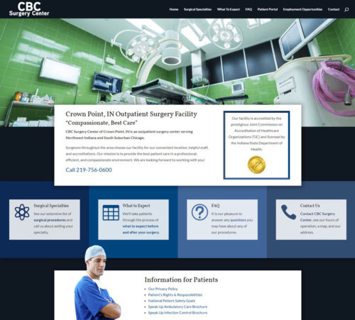 CBC Surgery Center | Crown Point Outpatient Surgery Facility