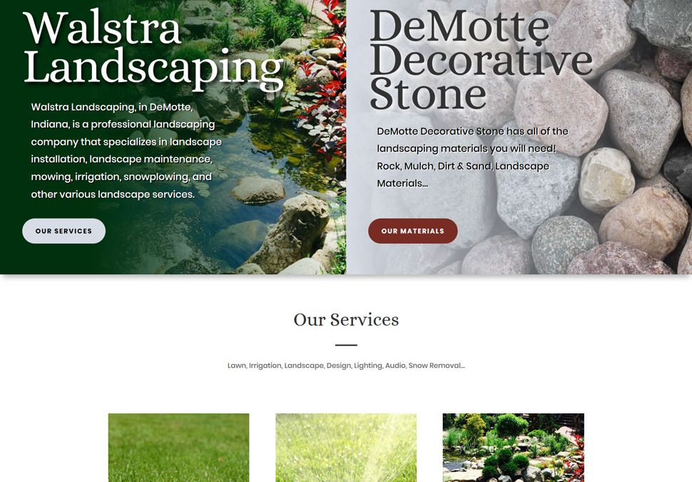 DeMotte Decorative Stone & Walstra Landscaping