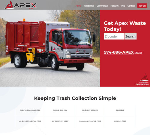Apex Waste | Northern IN Trash Removal